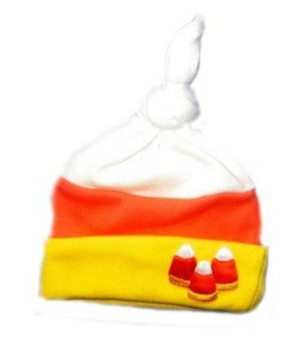 Jacqui's Unisex Baby Candy Corn Hat