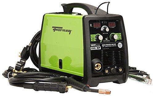 Forney 324 190-Amp MIG/Stick/TIG Multi-Process Welder, 120/230-Volt