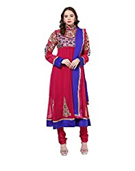 Yepme Women's Multi-Coloured Polyester Semi Stitched Suit - YPMRTS0141_Free Size