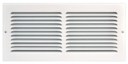 Speedi-Grille SG-146 RAG 14-Inch by 6-Inch White Return Air Vent Grille with Fixed Blades (Wall Air Vent compare prices)