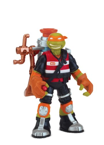 Teenage Mutant Ninja Turtles Mutant Ooze Launchin' Mikey Action Figure