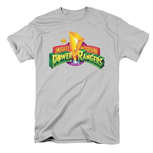 Power Rangers - Men's T-shirt Mighty Morphin logo