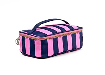 Best Cheap Deal for Trina Kelly Stripe 2 Piece Pink and Navy Cosmetic by Allegro, A Division of Conair Corporation - Free 2 Day Shipping Available