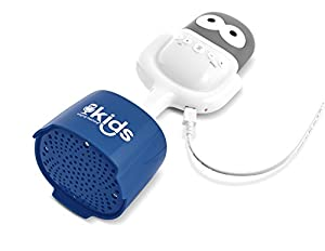 Singing Machine Kids SMK445 2 in 1 Portable Bluetooth Speaker with Mic Guy Microphone