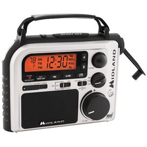 Observer Wind Up Emergency Radio Black