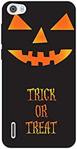 The Racoon Grip Trick-o-treat hard plastic printed back case / cover for Huawei Honor 6