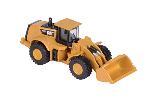 Toy State Caterpillar Metal Machines 980K Wheel Loader Diecast Vehicle (Styles May Vary)