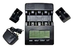 Opus Tester Analyzer Battery Charger, 12V, Black