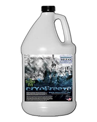 1 Gal - Cryofreeze - Designer Select Stage Low Lying Fog Machine Fluid from Froggys Fog