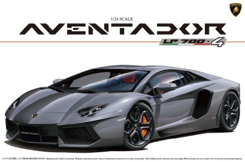 Aoshima 1/24 Lamborghini Aventador LP700-4 w Engine Detail AOS00 AOS001424 (Lamborghini Model Car compare prices)