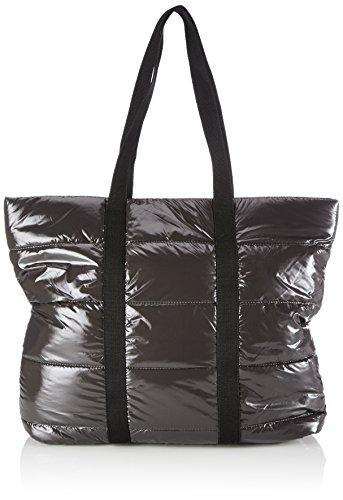 Friis & Company - Puf Catrine Everyday Bag, Borsa A Tracolla da donna, grigio (grey), 10x41x44 cm (B x H x T)
