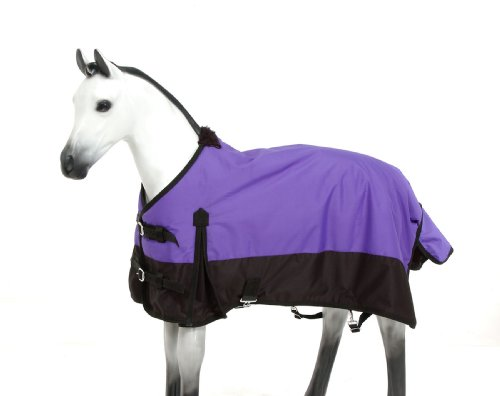 Tough 1 Polar 600D Waterproof Poly Foal Blanket, Purple, Medium