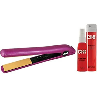 """Best Cheap Deal for CHI Pink Mist 1"""" Flat Iron w/ 2oz 44 Iron Guard & 2.6oz Helmet Head LIMITED ED from farouk chi - Free 2 Day Shipping Available"""