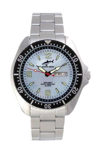 Chris Benz One Man CBO-H-SI-MB Elegante orologio da uomo Orologio da immersione