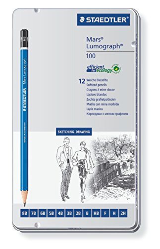 staedtler-100-g12-s-mars-lumograph-pencils-8b-2h-with-soft-grades-tin-of-12
