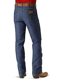 Wrangler Men's Cowboy Cut Slim Fit Jean,Navy,31x36