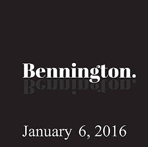 Bennington, January 6, 2016 Radio/TV Program