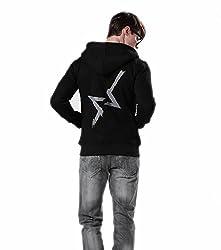 Watch Dogs Aiden Pearce cosplay hoodie zip hoody