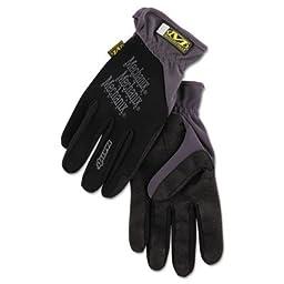 FastFit Work Gloves, Black, Extra-Large, Sold as 1 Pair, 2 per Pair