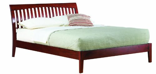 Modus Furniture Newport Queen Platform Bed Cordovan