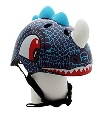 Dinosaur Childrens Safety Helmet Cycling Skating Scooter Bike (Suitable Kids aged 3 - 10)
