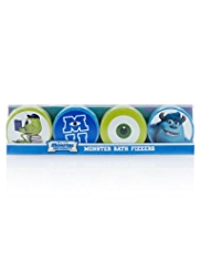 4 Disney Pixar Monsters University Bath Fizzers