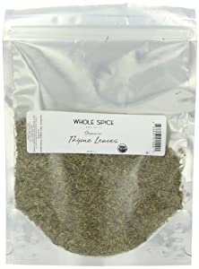 Whole Spice Thyme Leaves Organic, 4 Ounce