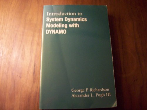 Introduction to System Dynamics Modeling With Dynamo