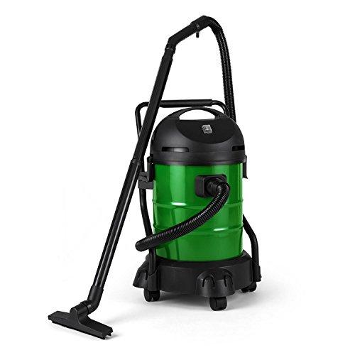 Electronic-Star-Lakeside-Powerplus-Aspirateur-de-jardin-pour-lacs-vase-tangs-feuilles-mortes-algues-1200W-de-puissance-3-embouts-rcipient-de-30L-tuyau-daspiration-de-3m-et-1m-set-daccessoires