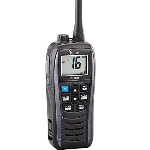 ICOM IC-M25 01 Handheld VHF Radio - Gray