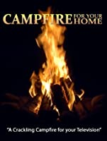 Evening Crackling Campfire - presented by Fireplace for your Home [HD]