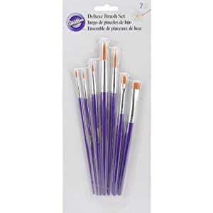 Wilton 7-Piece Decorating Brush Set