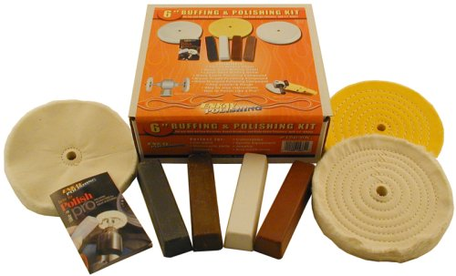 6 Buffing & Polishing Kit for Buffers and Grinders