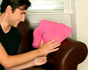 Deluxe Comfort Breast Friend Pillow, Pink