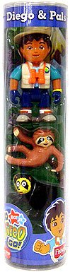 Buy Diego & Pals Figure 3-Pack Diego, Monkey & Bear