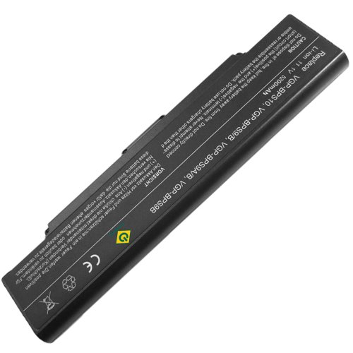 Bay Valley Parts Laptop Battery For Sony Vaio Pcg Vgn-Ar Vgn-Cr Vgn-Nr Vgn-Sz Series, Pn: Vgp-Bps9 Vgp-Bps9A/B Vgp-Bpl9 (Black)