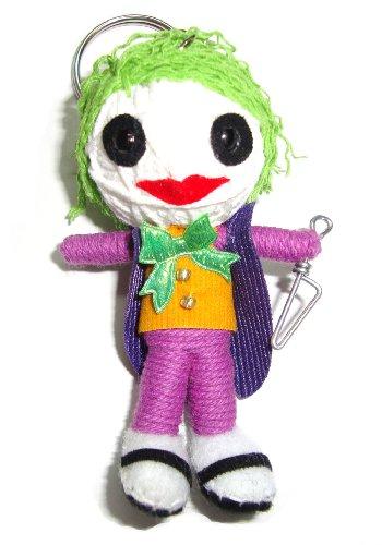 Joker Voodoo String Doll Keyring Keychain