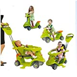 Mookie Smart Trike AIO (All in One) Stage 3 - Green