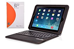 Bear Motion for iPad Air - Ultra thin Folio Case with Detachable Bluetooth Keyboard for Apple iPad Air