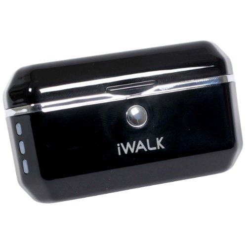 プロテック iWALK1500 モバイルバッテリー for iPhone&iPod ブラック ディスプレイスタンド付 PIB-1500BK 【iPhone 3G,3GS,4/iPod nano 5G】 PIB-1500 BK