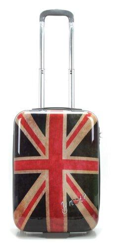 Y NOT? TROLLEY A MANO CABINA RYANAIR 55 CM TAXI, NEW YORK, ITALIA 500 BANDIIERA USA,UK
