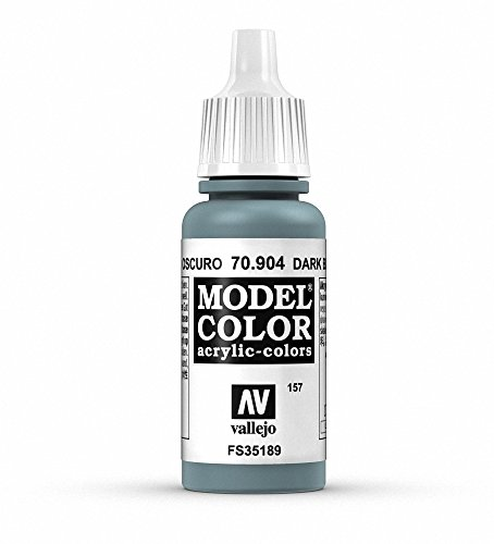Vallejo Dark Blue Grey Model Color 2 Paint, 17ml - 1