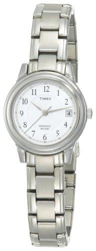 Timex Women's T29271 Elevated Classics Dress Sport Chic Silver-Tone Bracelet Watch