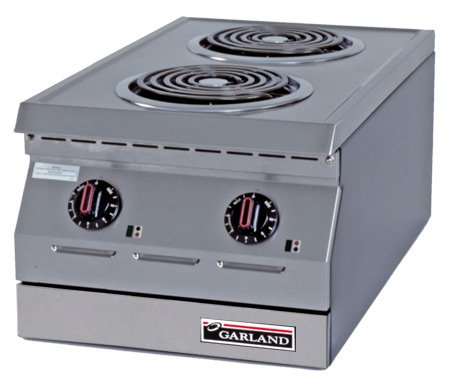 "Garland Ed-15H 15"" Electric Hot Plate -7-1/2"" Solid Elements"