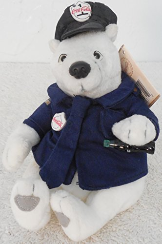 [Coke Brand Bean Bags Policeman Polar Bear In Uniform Plush #HS0315] (Policeman Uniform)