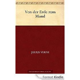 Von der Erde zum Mond (German Edition)