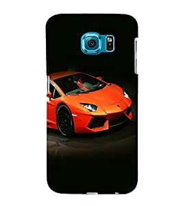 printtech Superfast car Back Case Cover for Samsung Galaxy S6::Samsung Galaxy S6 G920