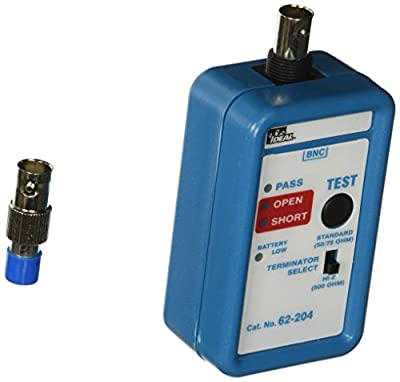 IDEAL Connector Coax Mini Cable Tester (62-204)