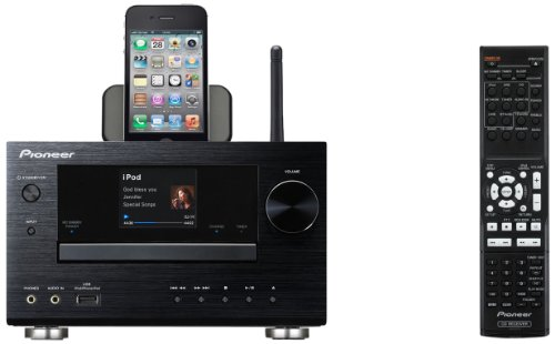 Pioneer XCHM81 Wireless Networked Micro System with iPod Dock (Black) Black Friday & Cyber Monday 2014