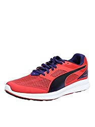 Puma Womens IGNITE Mesh Wn s Cayenne and Astral Aura Mesh Running Shoes - 5 UK/India (38 EU)